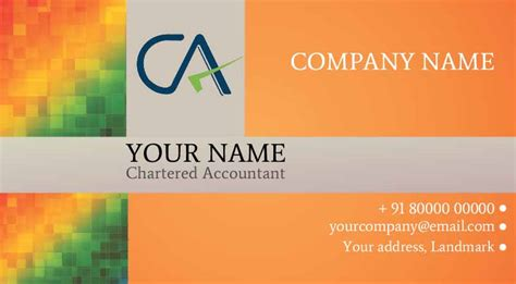 Chartered Accountant Visiting Card Templates by Visiting Card Order Visiting Cards Business Cards