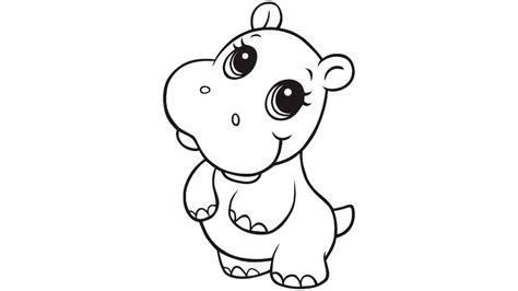 imagenes para colorear hipopotamo dibujos de crias de hipop 243 tamos im 225 genes y fotos