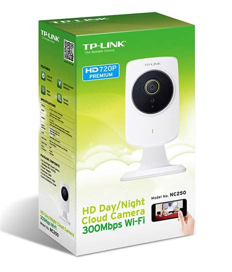 Tp Link Nc 250 Ip Cloud Hd 720p 300mbps Wifi tl nc250 720p hd cloud nightvision tp link wagner store