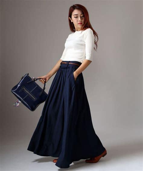 la longue monte de les 25 meilleures id 233 es de la cat 233 gorie jupes longues bleues sur jupes maxi bleues