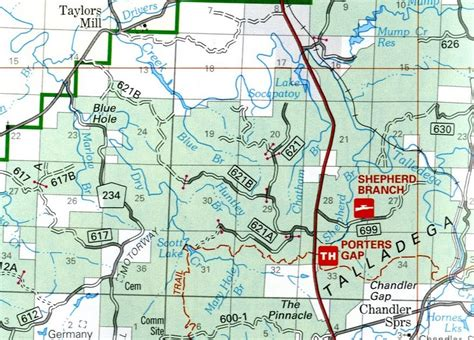 national forest map government documents for you talladega national forest map