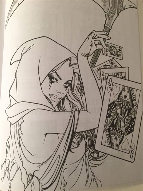 grimm tales coloring book different