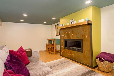 small basement remodel small basement fireplace remodel vertical construction
