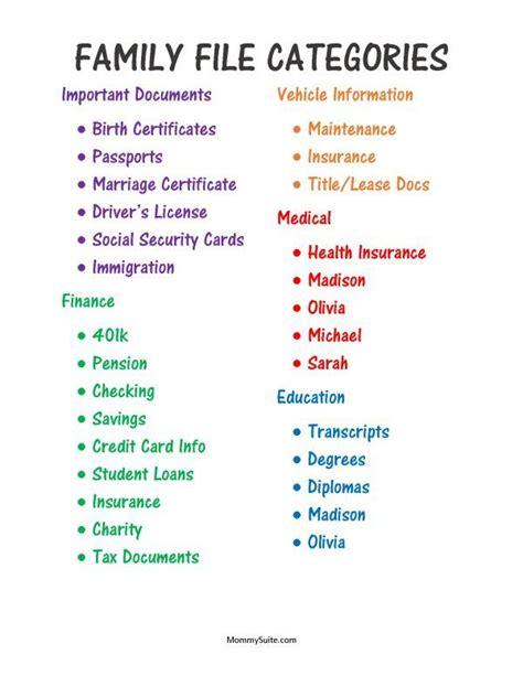 category designs best 20 file organization ideas on pinterest organizing