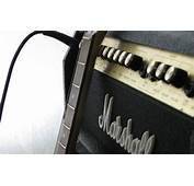 Wallpaper Photo Macro Marshall The Amplifier Guitar