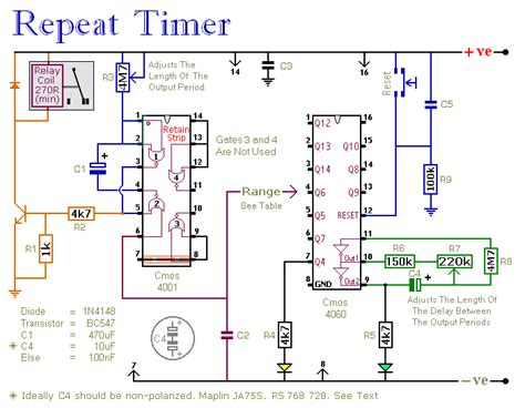 timer relay circuit diagram industrial timer relay circuit schematic get free image