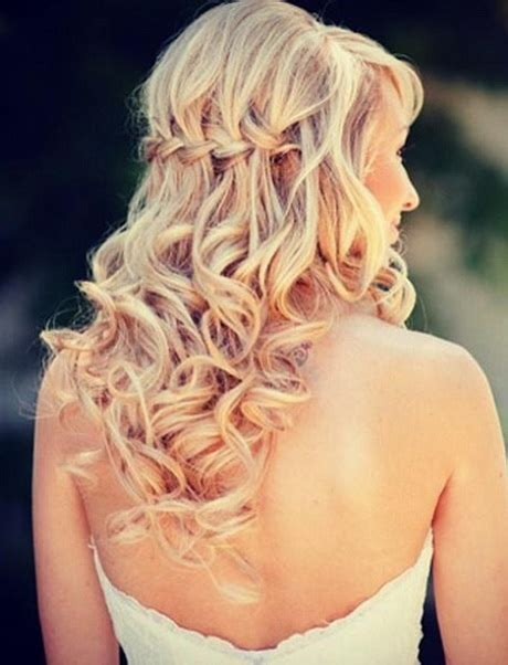 Wedding Hairstyles Braids Curls | wedding hair with braids and curls