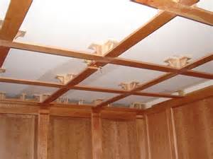 diy coffered ceilings constant craftsman organic