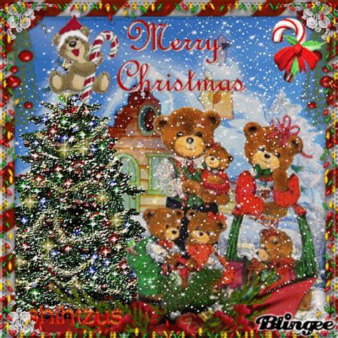 friends  blingee land   beary merry christmas image  blingeecom