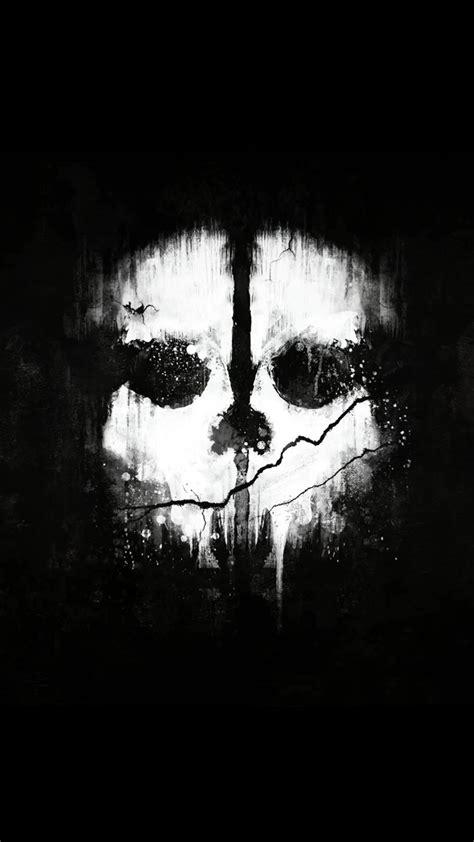 ghosts skull    hd wallpaper