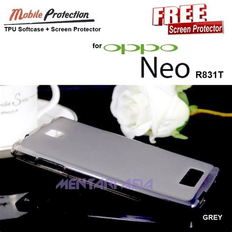 Softcase Oppo Neo 3 jual softcase oppo neo r831t mp tpu softcase free sp