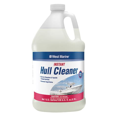 international boat cleaner west marine hull cleaner gallon west marine