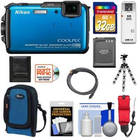 nikon coolpix aw110 shock & waterproof gps wi fi digital