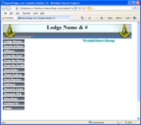 masonic trestle board template masonicpages free website hosting for masonic lodges