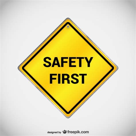 Safety Clip Free Downloads by Safety Sign Vector Vector Free
