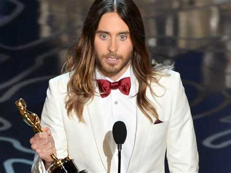 film oscar jared leto jared leto thanks his high school drop out single mum in