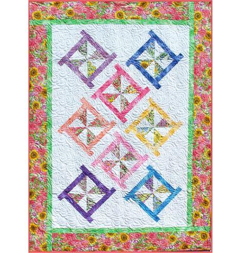 printable quilt patterns pinwheel posies quilt pattern b j q 115 printable pdf