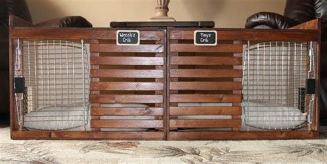 dog crate bench handcrafted custom luxury dog crate bench by