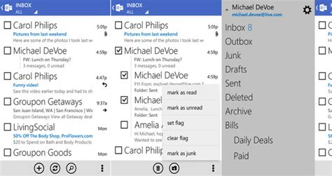 outlook for android mobile outlook for android gets an update and now it looks like a windows phone app