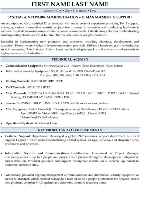 resume templates networktor sample security objective exceptional