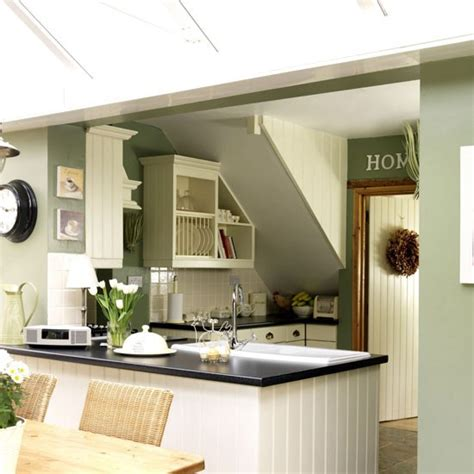 Green Country Kitchen Green Country Style Kitchen Kitchen Design Decorating Ideas Housetohome Co Uk