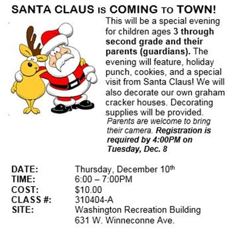printable lyrics for santa claus is coming to town city of neenah santa claus is coming to town