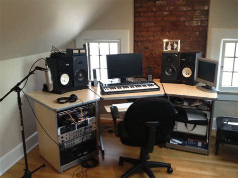 setting up your own home recording studio