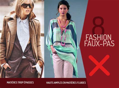8 Fashion Faux Pas by Comment S Habiller Avec Une Silhouette En 8 Poitrine