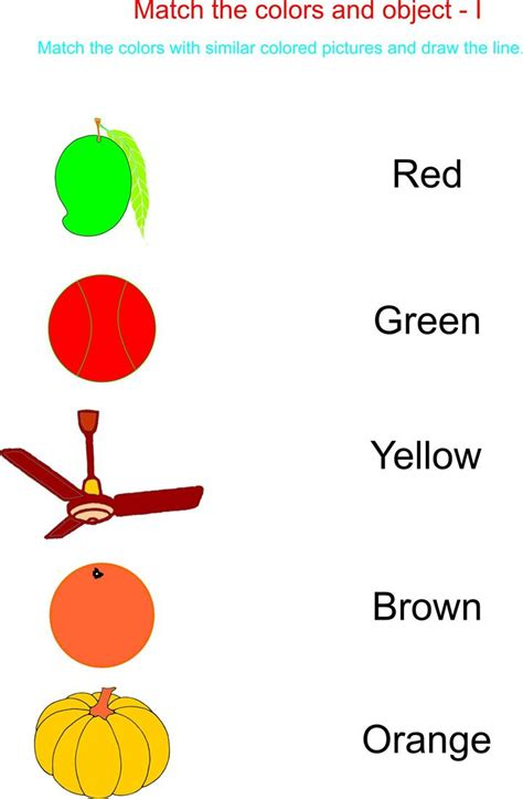 color word recognition worksheets color recognition worksheets worksheets
