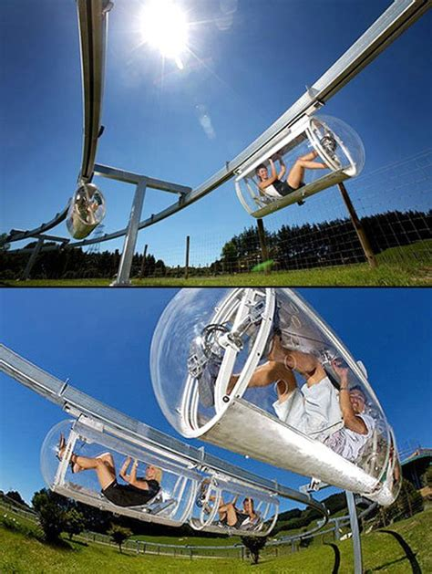 Backyard Monorail by Shweeb Pedal Monorail System Adrenalin Pumping Sport Gadget Quest For The Coolest Gadgets