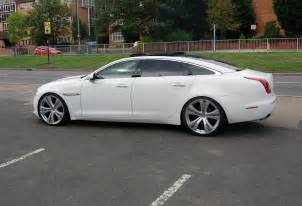 Jaguar Xj On 22s Jaguar Xj White Black Rims