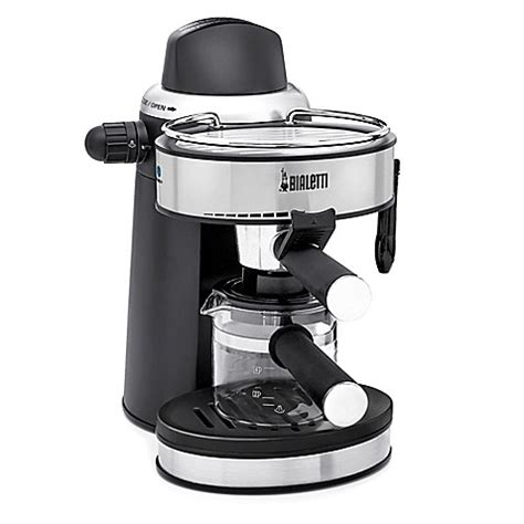 espresso maker bialetti bialetti 174 steam espresso maker bed bath beyond