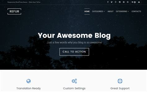 wordpress themes blog quotes 30 best free wordpress themes of 2017 optimizer wp