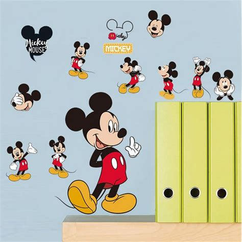 mickey minnie mouse bathroom decor aliexpress com buy cute wall sticker mickey mouse minnie
