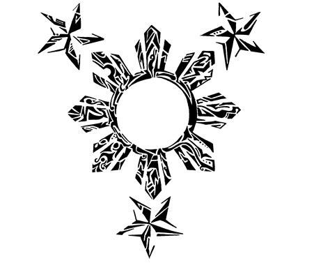 filipino sun and stars tattoo designs 16 designs