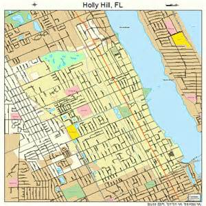 hill florida map 1231350