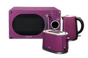 Purple Daewoo Microwave Daewoo Daewoo Daewoo Purple Microwave Toaster Kettle
