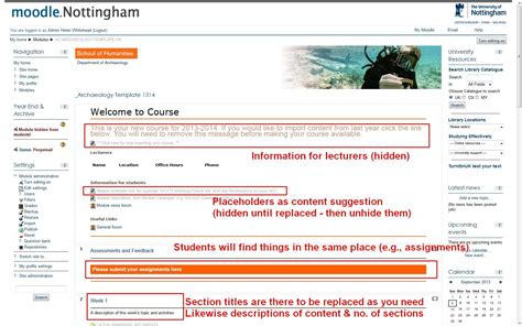 Template Moodle 3 2