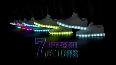 skechers energy lights commercial skechers energy lights tv commercial light up the night