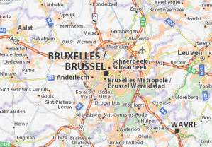 Carte détaillée Bruxelles   plan Bruxelles   ViaMichelin