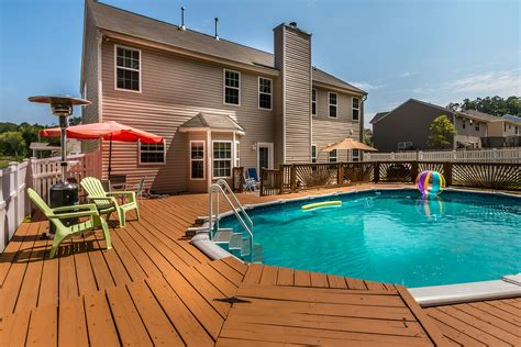 homes with pool just listed north charlotte home for sale with swimming pool