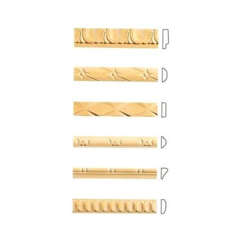listelli per cornici listelli decorativi in legno per pareti