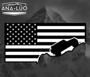 items similar to jeep wrangler american flag decal on etsy