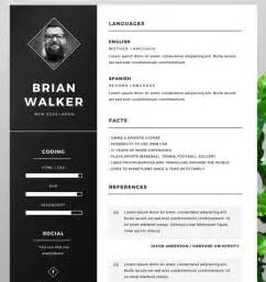 Adobe Illustrator Resume Template by 130 New Fashion Resume Cv Templates For Free