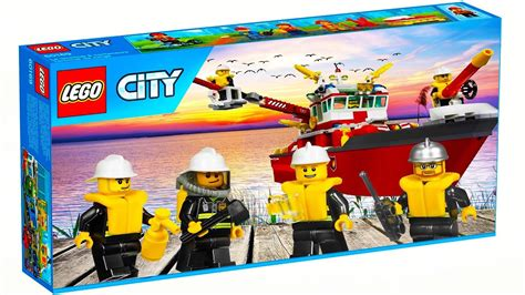 lego boat in motion lego city 7207 fire boat is a funny lego stop motion