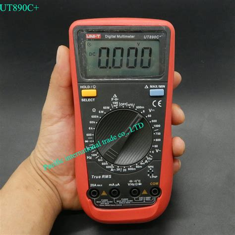 Multitester Uni T uni t ut890c true rms digital multimeter with backlight