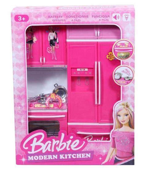 Paradise Pink Barbie Kitchen Set   Buy Paradise Pink