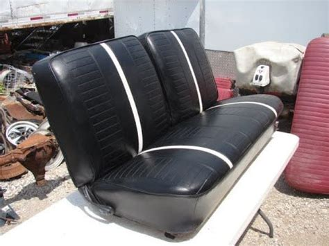 nova bench seat for sale 1966 1967 nova 2 door black bench seat ss 327 350 chevy 2