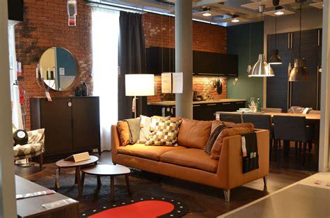 ikea stockholm sofa leather ikea delft living room stockholm leather sofa