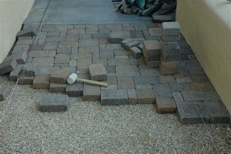 Lay Patio Pavers 20081026 Day Of Laying Patio Pavers Day Of Lay Flickr